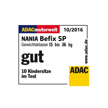 Автокресло nania Befix SP FIRST, POP BLACK