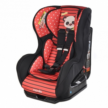 Автокресло nania Cosmo SP Animals Panda Red