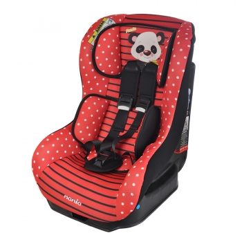Автокресло nania Driver Animals, Panda Red