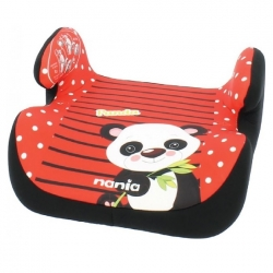Автокресло-бустер nania Topo Comfort Animals, Panda Red
